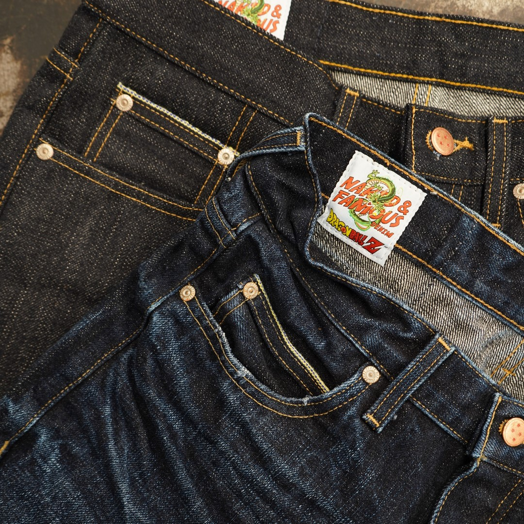 vegeta naked&famous denim