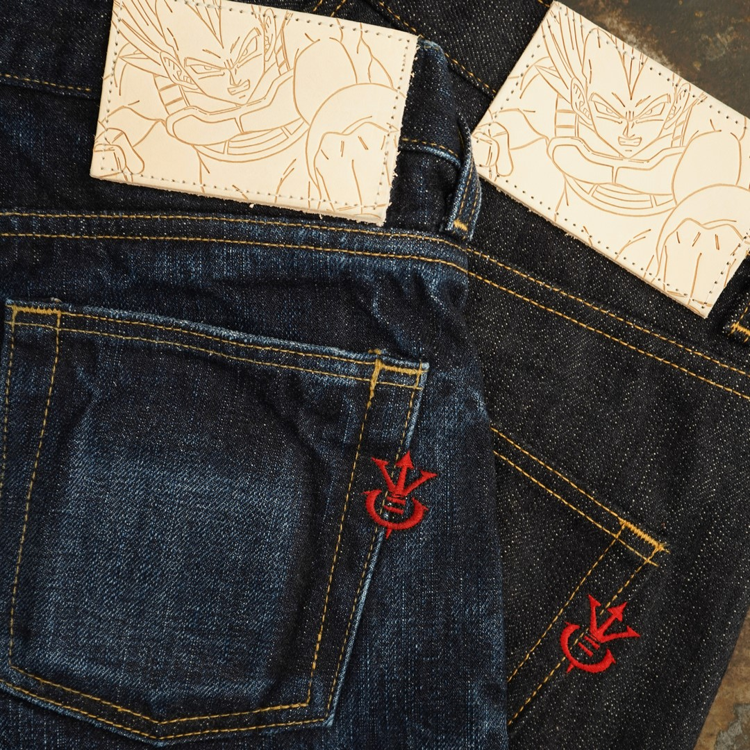 Vegeta naked&famous denim selvedge